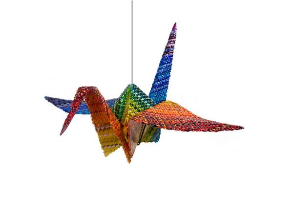 Rainbow-Peace-Crane