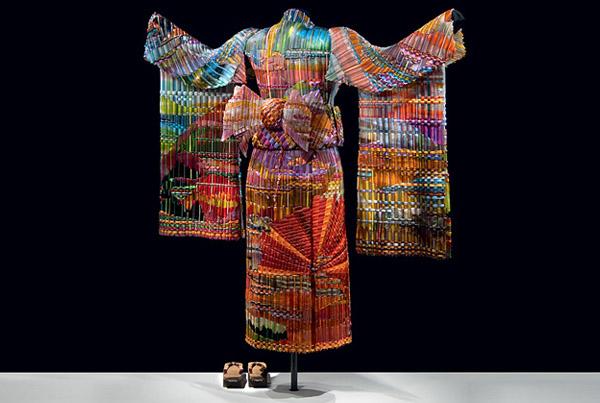Autumn Sunset Kimono ·