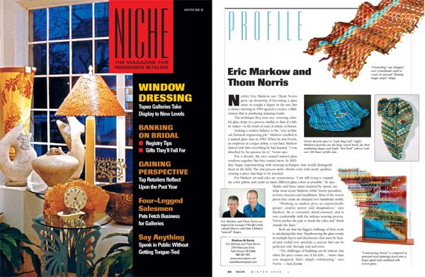 Markow & Norris Niche Magazine